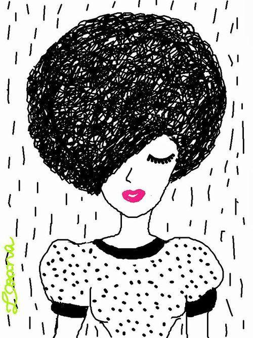 Muito Resultado de imagem para cabelo afro desenho | Luminária- DREMEL  AV09