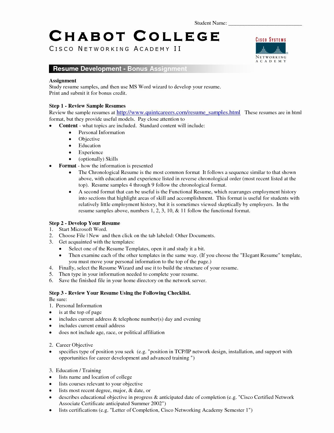 The amazing Free Student Resume Templates Microsoft Word