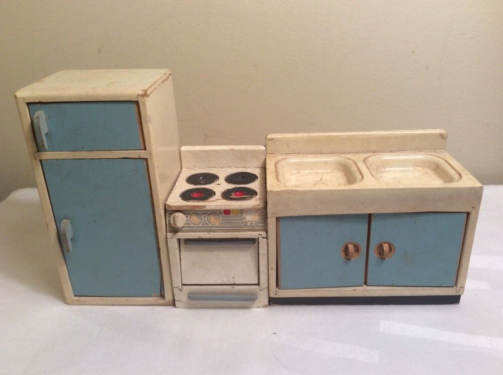 Küchenofen Antik ~ Alter küchenofen herd m. zubehör f. puppenstube puppenküche