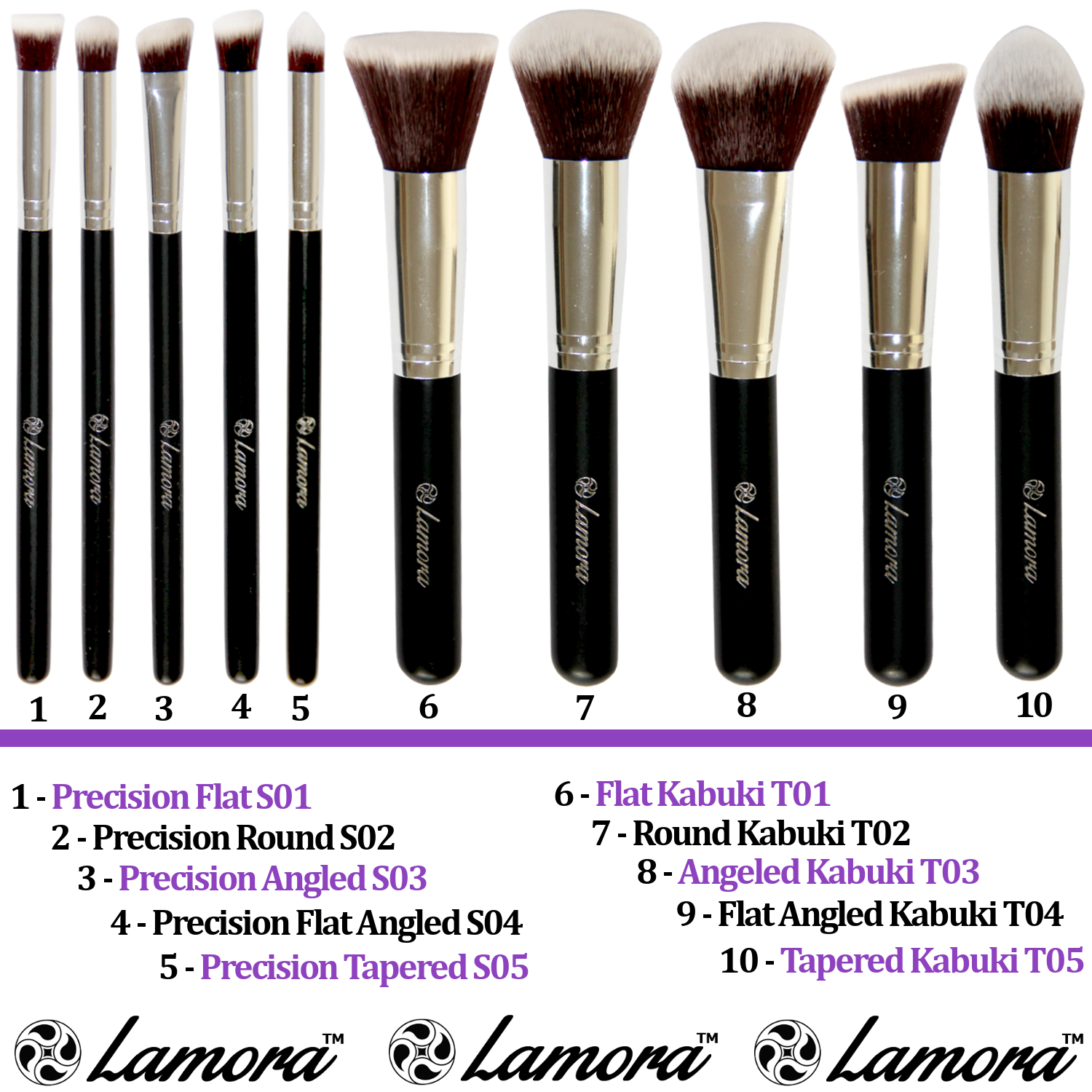Premium Synthetic Brush Set Spring Sale announced in the