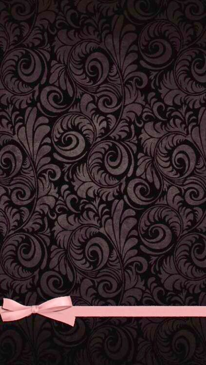 Bow Wallpaper Iphone, Black Wallpaper, Luxury Wallpaper, Phone Wallpapers, Cellphone Wallpaper,