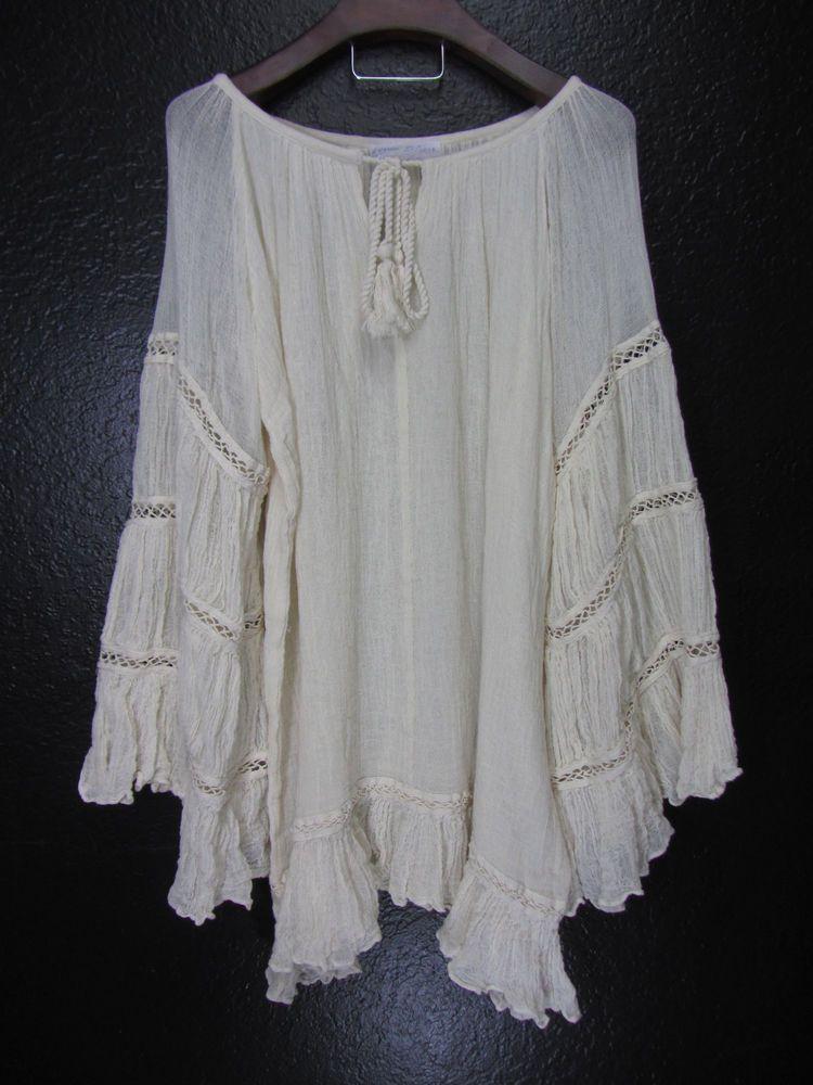 ca1c4ca25d8 JEN'S PIRATE BOOTY Lunar Eclipse Tunic Crochet Guaze Poncho Dress Coachella  NEW #JensPirateBooty #Bohemian #Poncho #Crochet #Coachella #Style SOLD BY:  www.