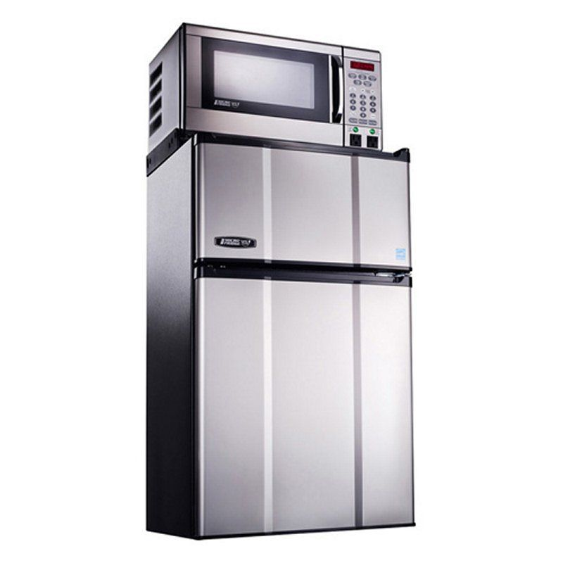 Microfridge Combination Appliance Model 2 9mf 7tps Stainless Compact Fridge Compact Refrigerator Compact Appliances