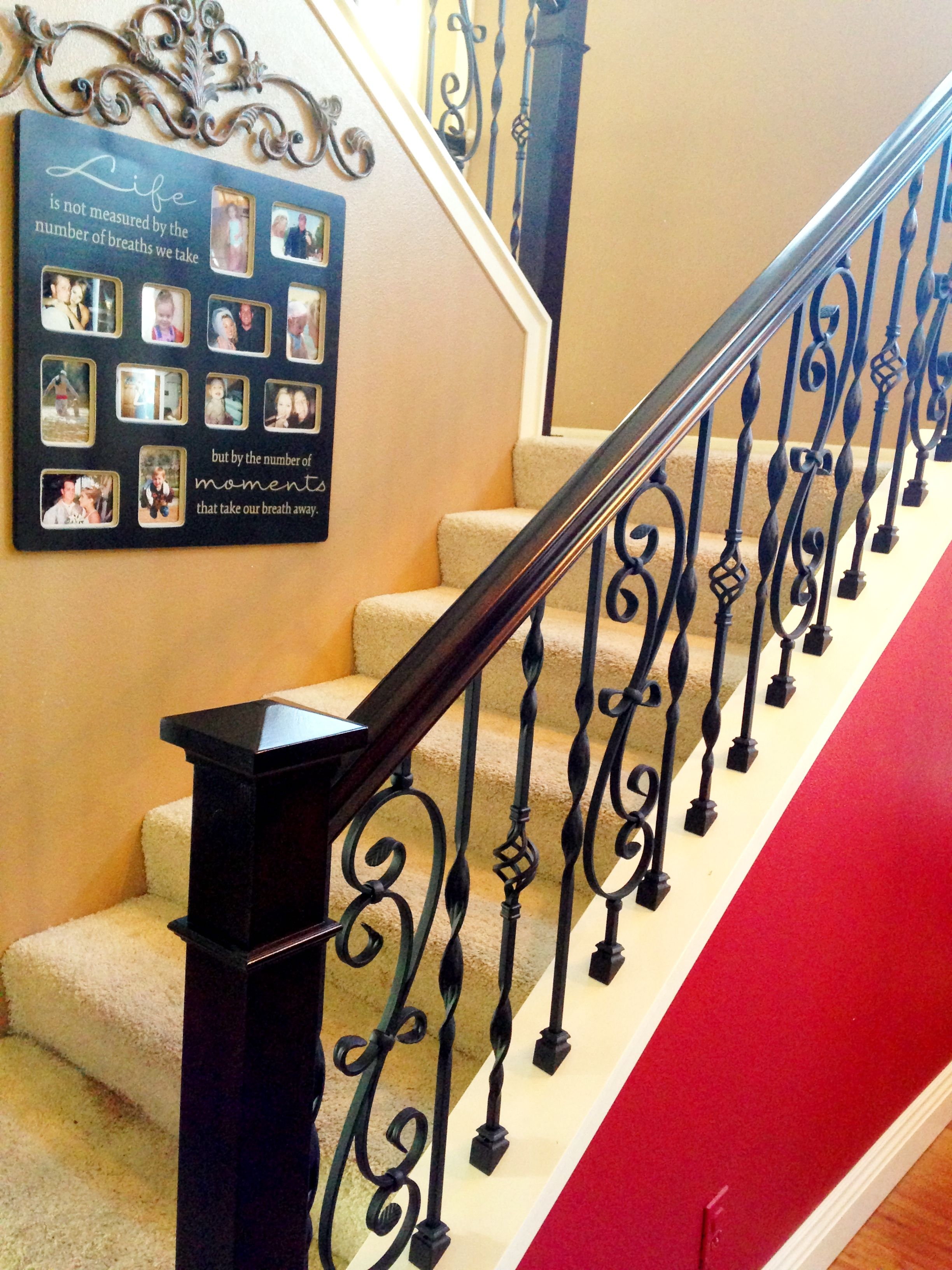 Our new staircase By Kelly Pinson stairs   New ...