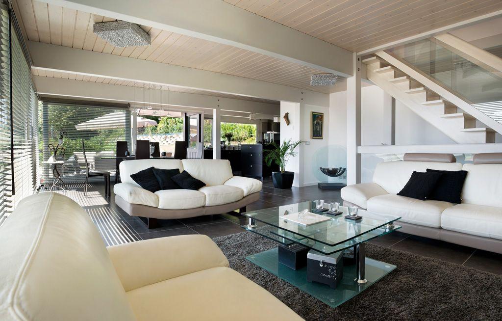 maison ossature bois izo Ambiances du0027intèrieure Pinterest - geraumige und helle loft wohnung im herzen der grosstadt