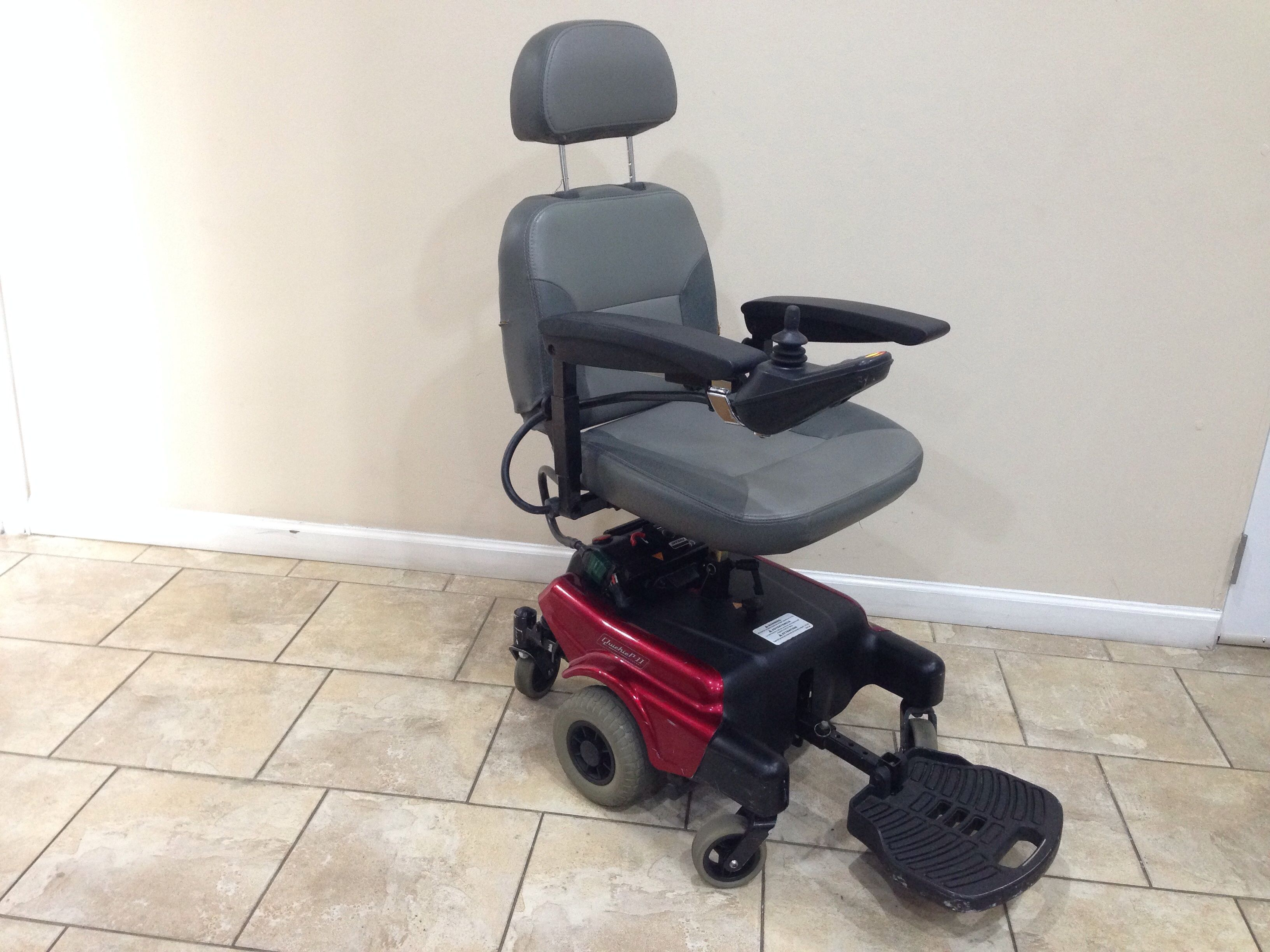 Quickie P11 Power Chair By Sunrise Medical (Used) For