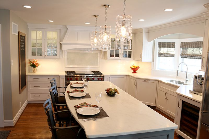 Bright Light Filled Kitchen Remodel Oakland St Louis Mo Agape Construction  Company Design Build Home