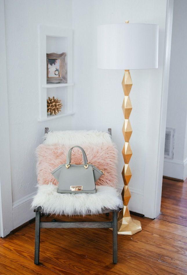 Einrichtungsideen Fell Stuhl Wohnzimmer Einrichten Wohn Ideen Schone