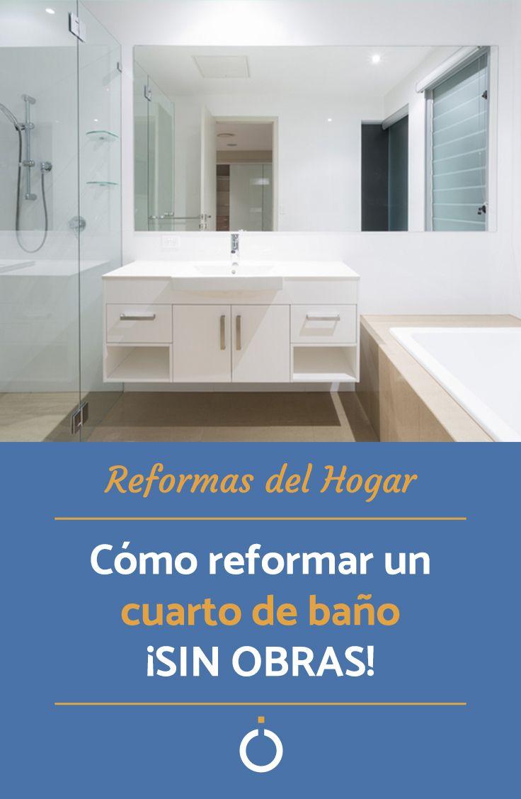 Cómo reformar un cuarto de baño sin obras | Cuarto de baño ...