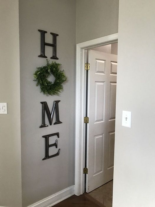 Diy Home Wreath Wall Decor Wreath Wall Decor Wood Home Decor Home Wall Decor