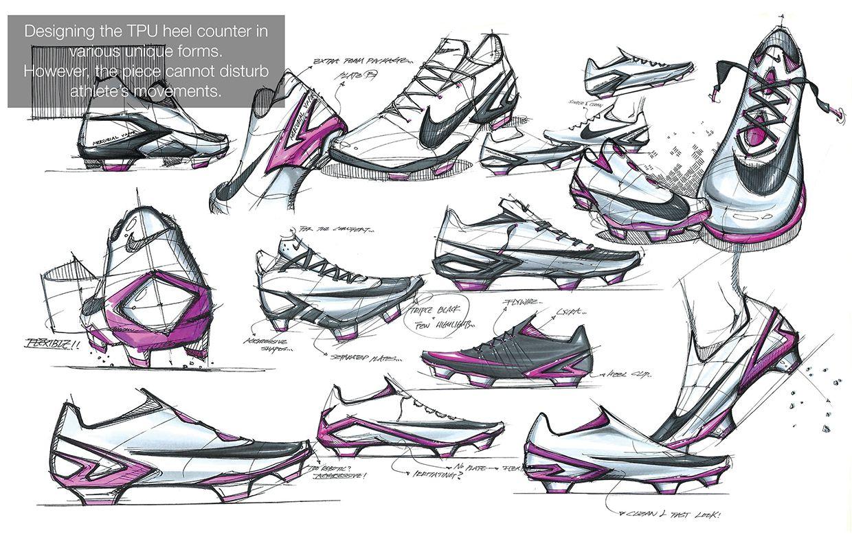 Nike CR7 Mercurial Vapor X FG on Behance · Sneakers SketchShoe ...