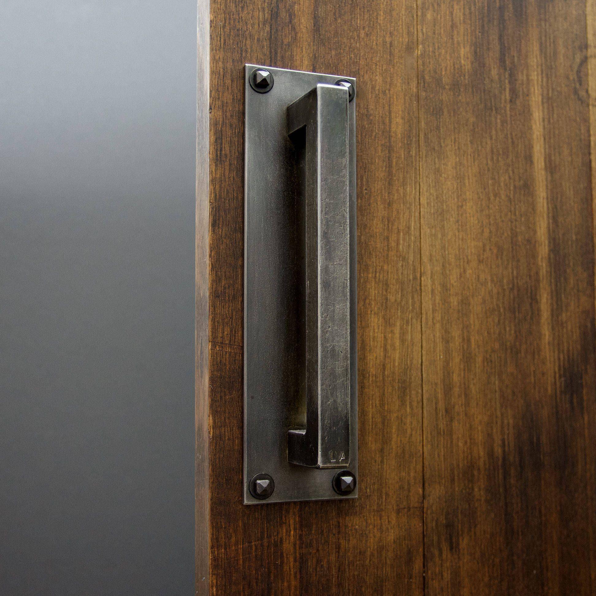 Heavy Duty Industrial Steel Door Handle Number 5 Door Handles Steel Doors Sliding Barn Door Hardware