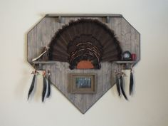 Game Panel Shown With Turkey Fan Mount Craft Turkey