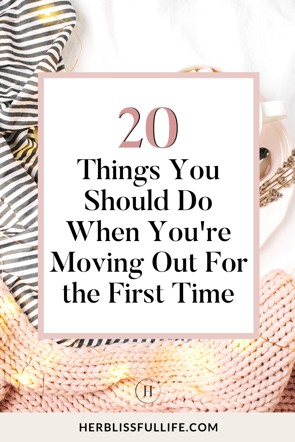 Need a checklist for moving out for the first time? We've got you covered! Here's everything you need to do before your big move! #movingout #apartmenthunting