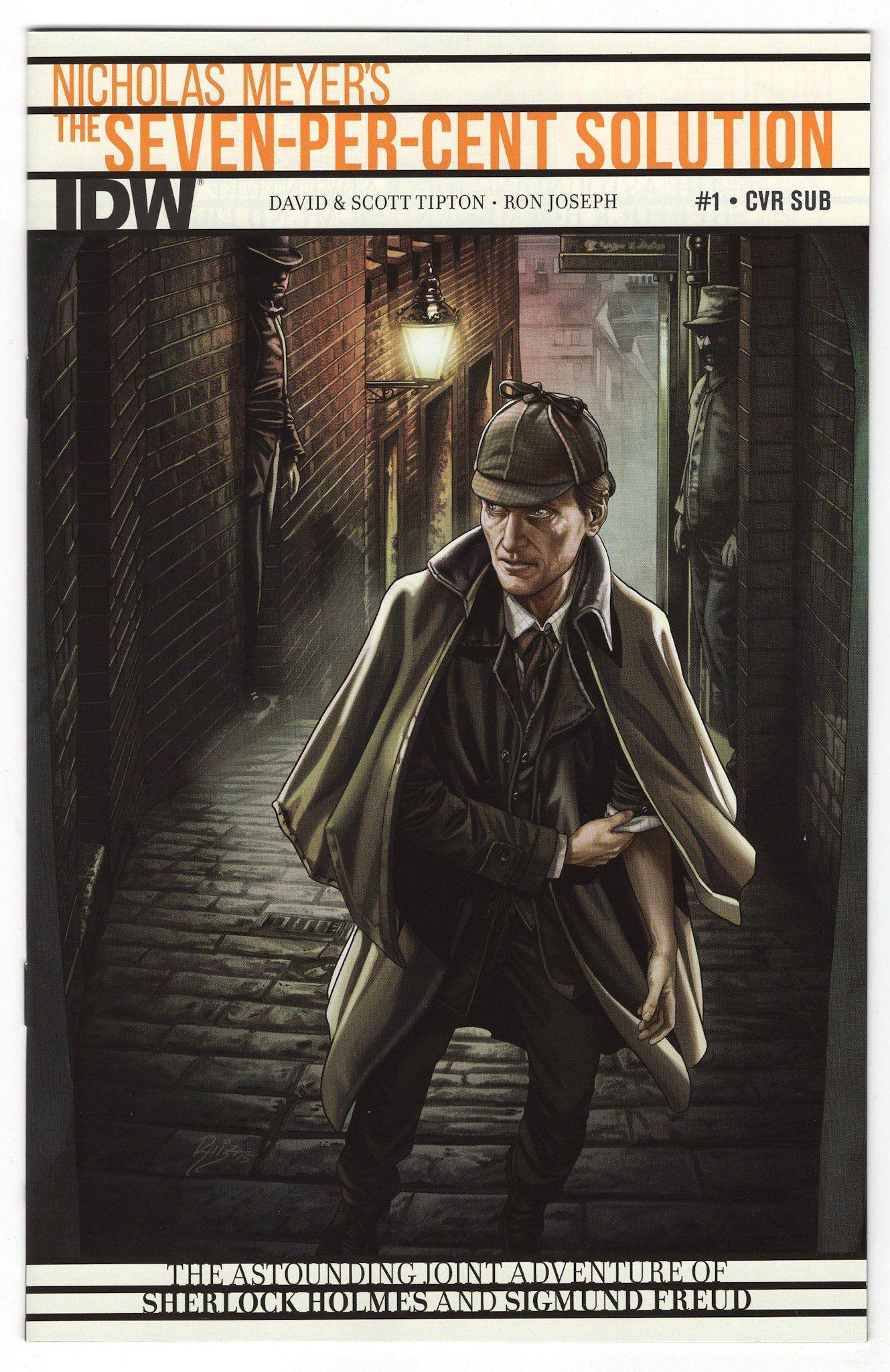 Sherlock Holmes Seven-Per-Cent Solution #1 Juan Carlos Ruiz Variant Cover (2015)