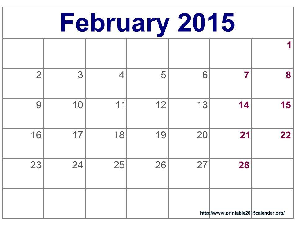 ms word calendar template 2015