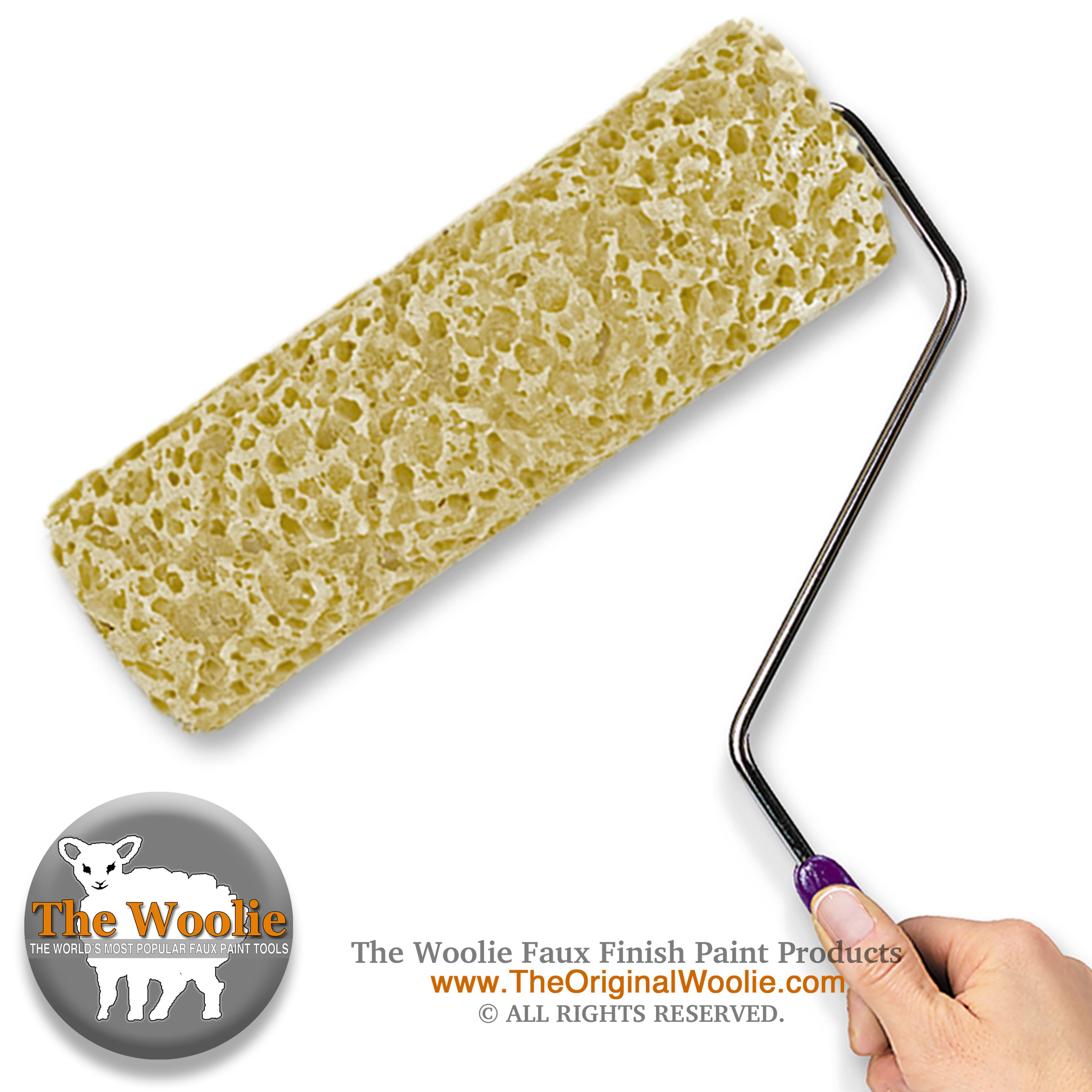 The Woolie Where To Buy The Woolie Faux Painting Tool The Woolie Com The Woolie Company The Woolie H Faux Painting Techniques Faux Painting Sponge Painting