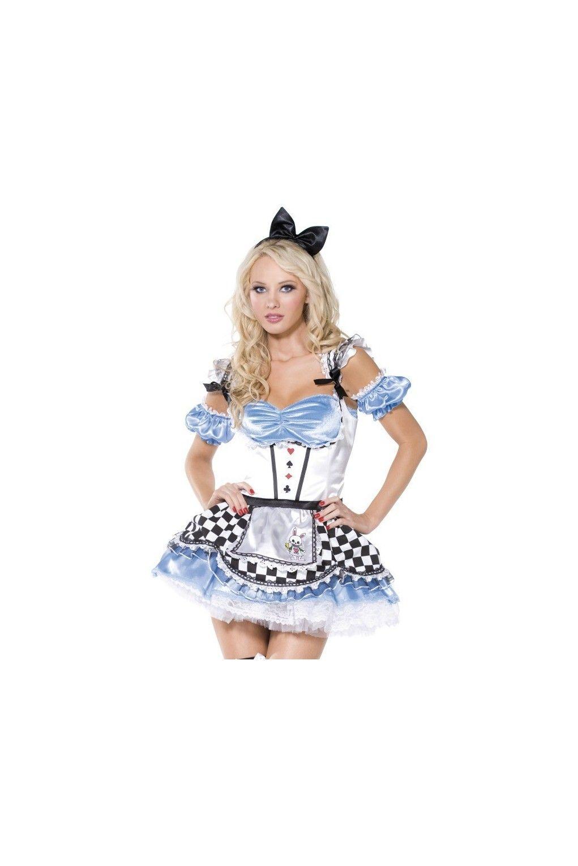 Disfraz De Dulce Alicia Fever Para Mujer Hallowen Costumes