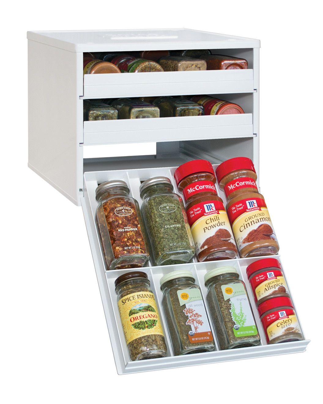 Woodworking Plans For Kitchen Spice Rack: Spotted This SpiceStack 24-Bottle Spice Organizer On Rue