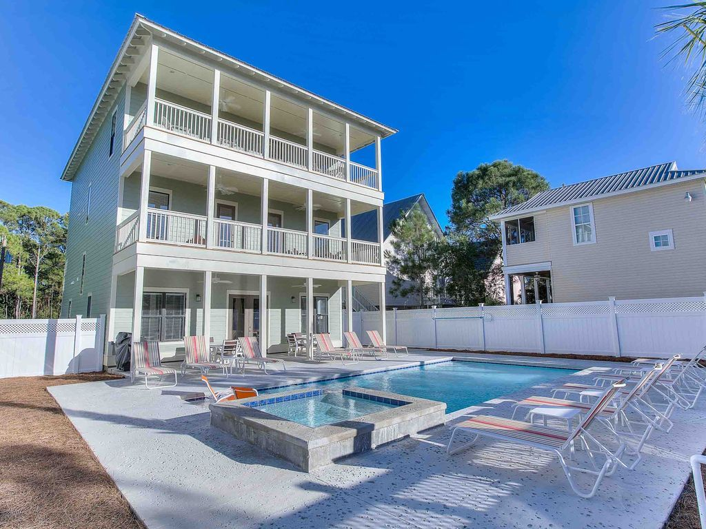 House Vacation Al In Seagrove Beach Fl Usa From Vrbo