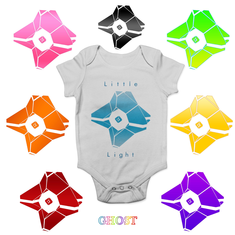 Destiny Ghost Baby One Piece Infant Set