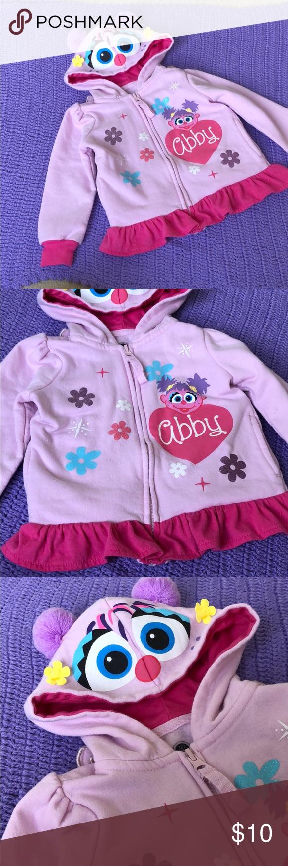 Sesame Street Abby Cadabby Toddler Hoodie