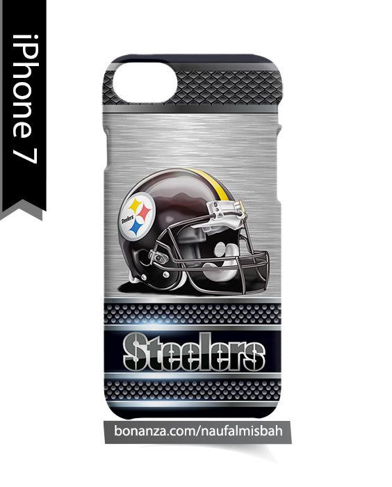 Pittsburgh Steelers Helmet iPhone 7 Case Cover Wrap Around