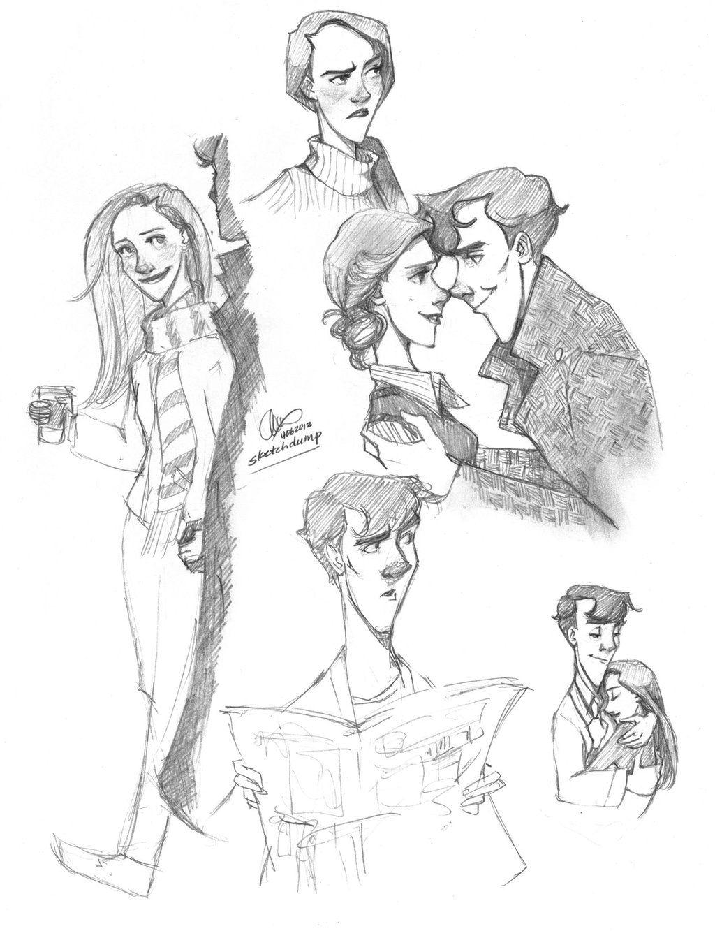 Sherlolly Sketchdump By Lexieken On Deviantart
