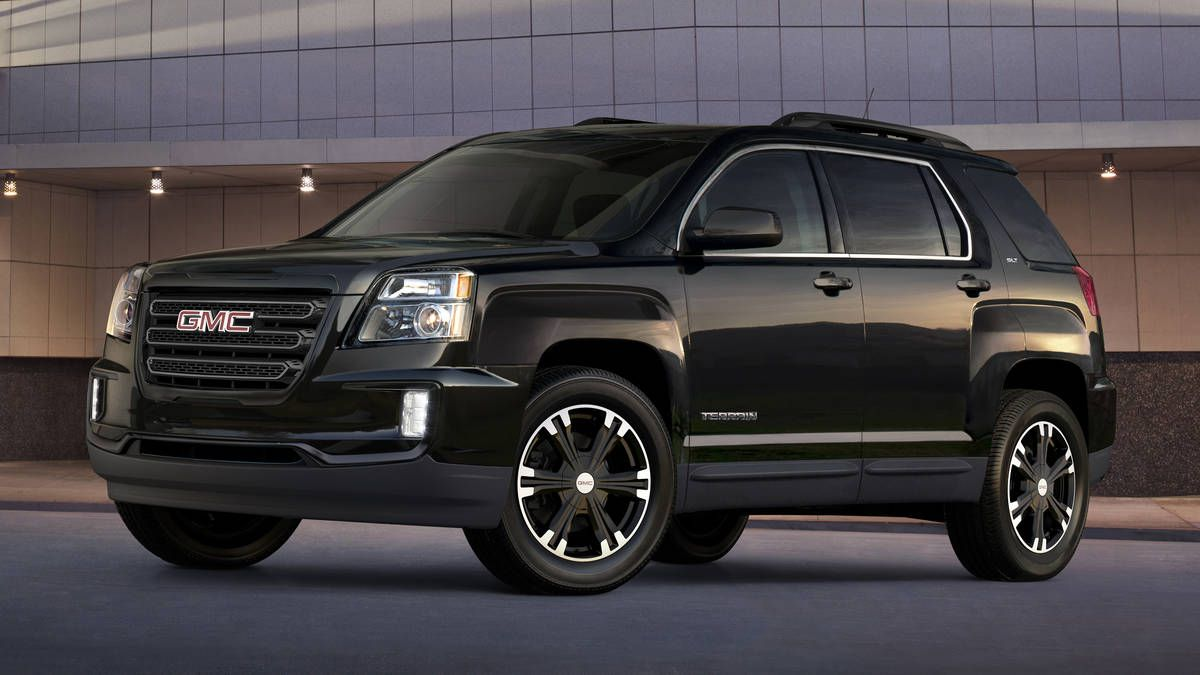 Check Out The 2017 Gmc Terrain Nightfall Edition Gm Suv