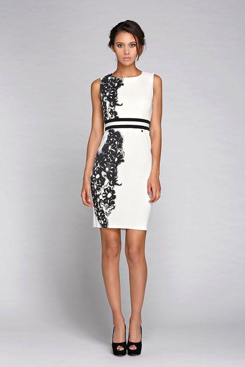 1016636889f Abbigliamento Donna 2015 Rinascimento Collezione Autunno Inverno Abito Pizzo  E Balze