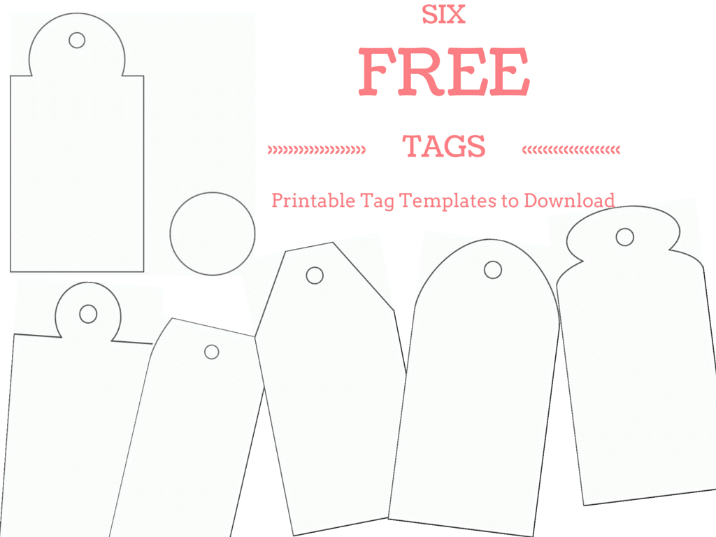 Free And Whimsical Gift Tag Templates To Print A Papercrafts Tags