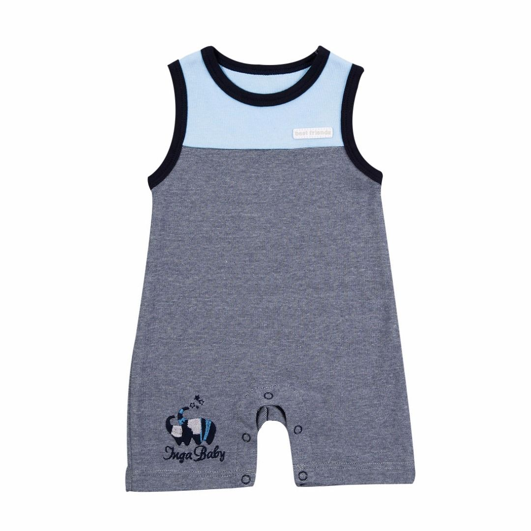 Newborn/Toddler's Embroidered Elephant Sleeveless Romper/One-piece, 73% discount @ PatPat Mom Baby Shopping App