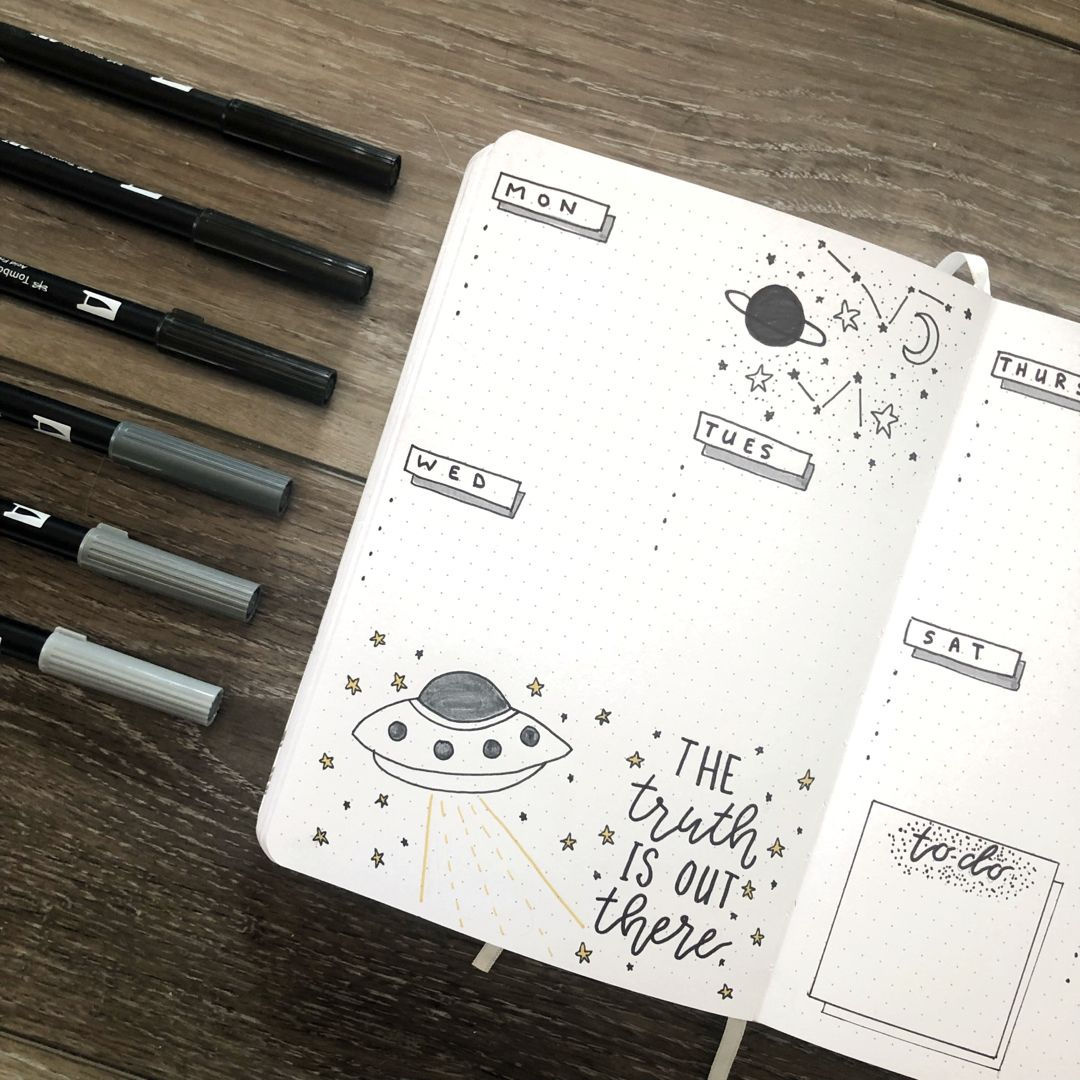July 2019 Bullet Journal - Rae's Daily Page