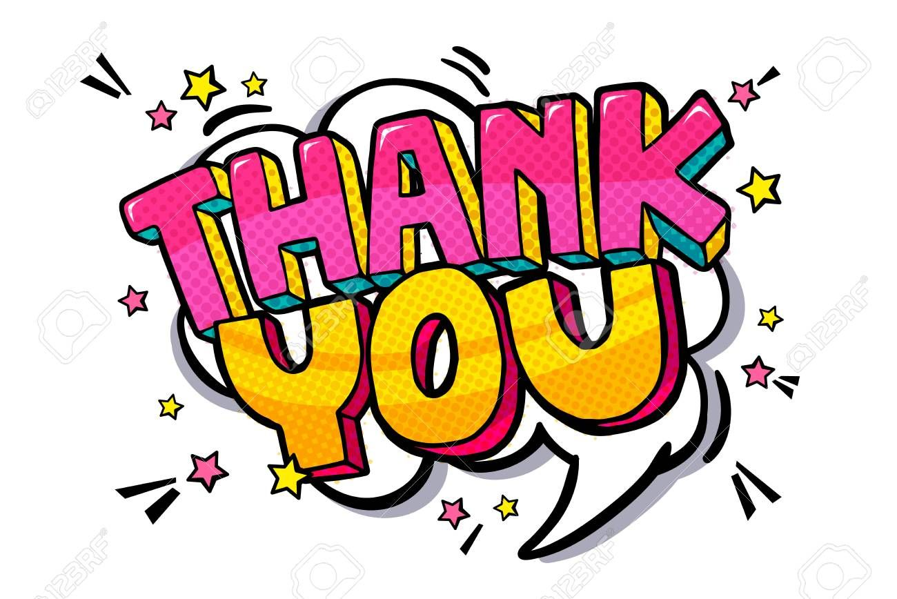 Thank You Word Bubble Royalty Free Cliparts Vectors And Stock Illustration Image 94146223 Word Bubble Printable Thank You Cards Thank You Pictures