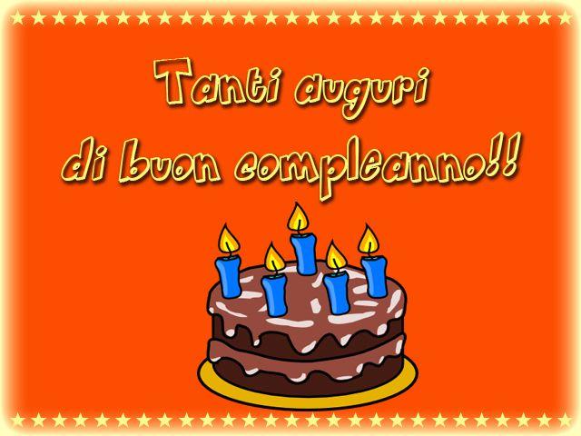 Auguri di compleanno...