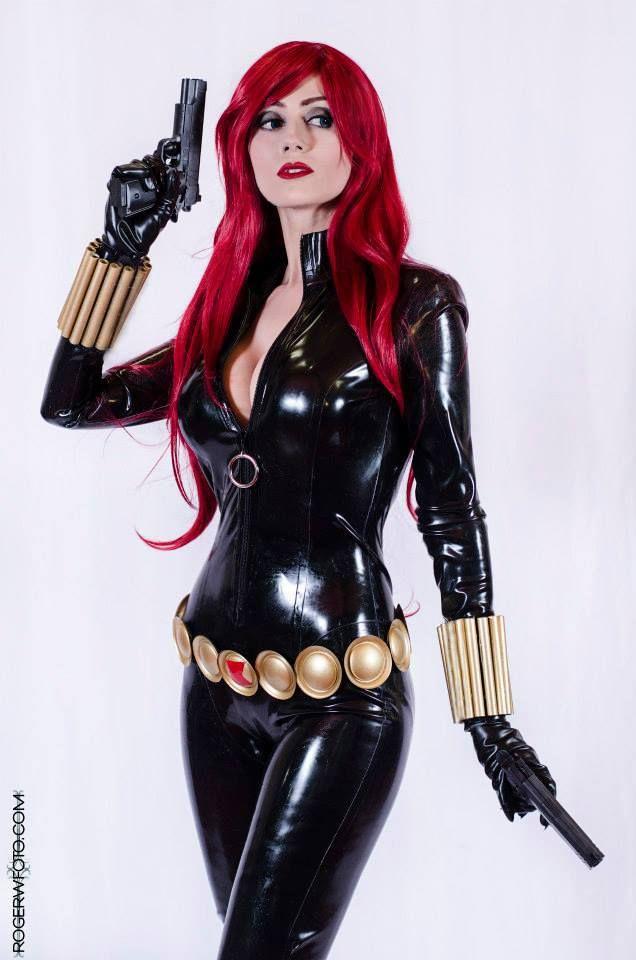 Adami Langley Black Widow Cosplay Black Widow