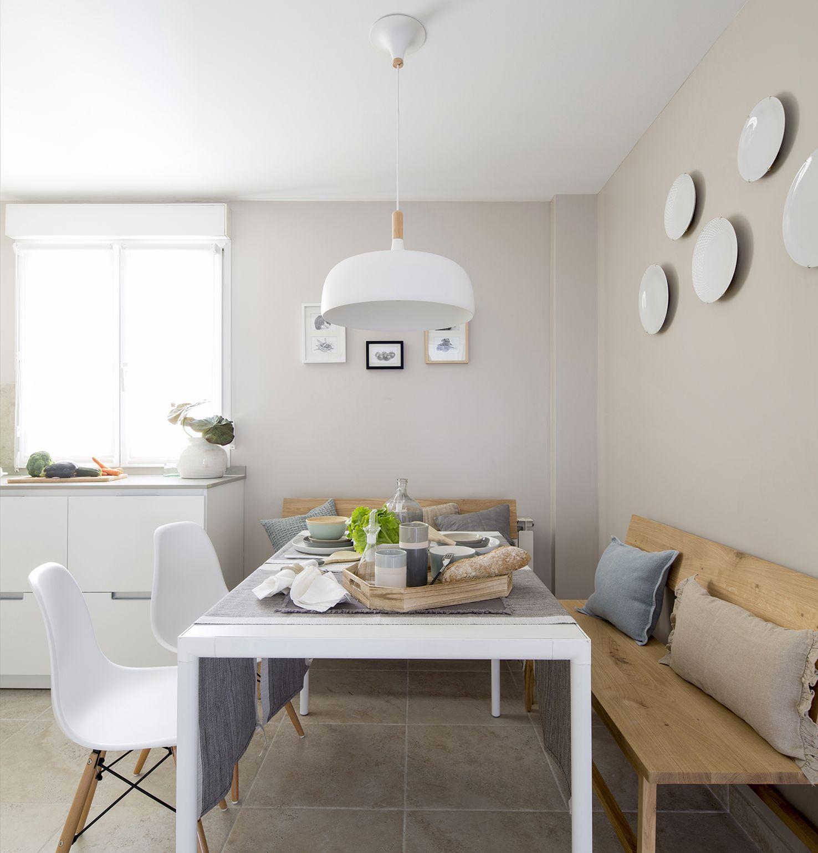 Office y cocina color blanco, modelo Minos de la casa Santos en ...
