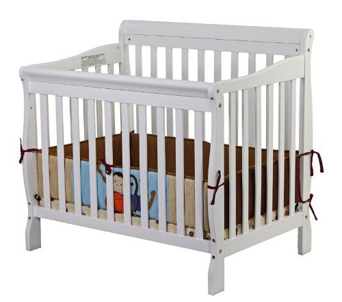 Dimensions 39l X 28w X 37h In Constructed Of Solid Pine Wood Color Options Available Mini Crib Cribs Twin Size Bed Frame
