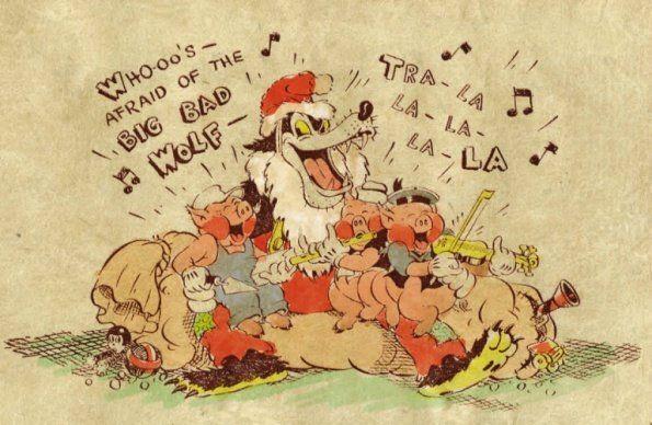Big Bad Wolf | Christmas, Novelty christmas |Big Bad Wolf Christmas