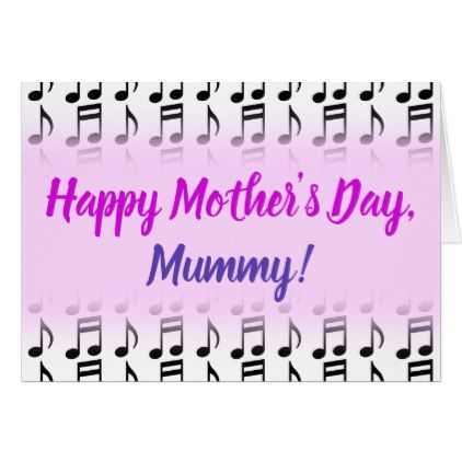 Happy Mother S Day Grid Of Musical Notes Zazzle Com Happy Mother S Day Happy Mothers Happy Mothers Day