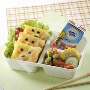 Parenting Co Id Inari Sushi And Meatballs Bento Resep
