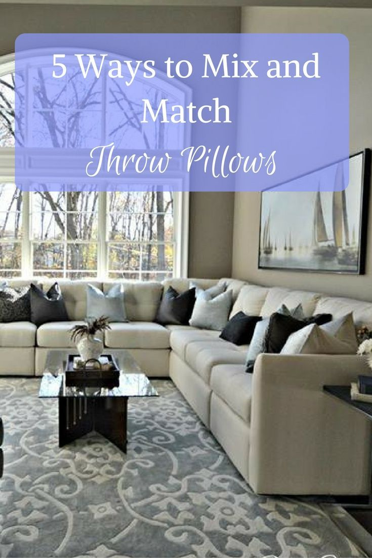 5 Ways to Decorate Throw Pillows for a fresh new look ...