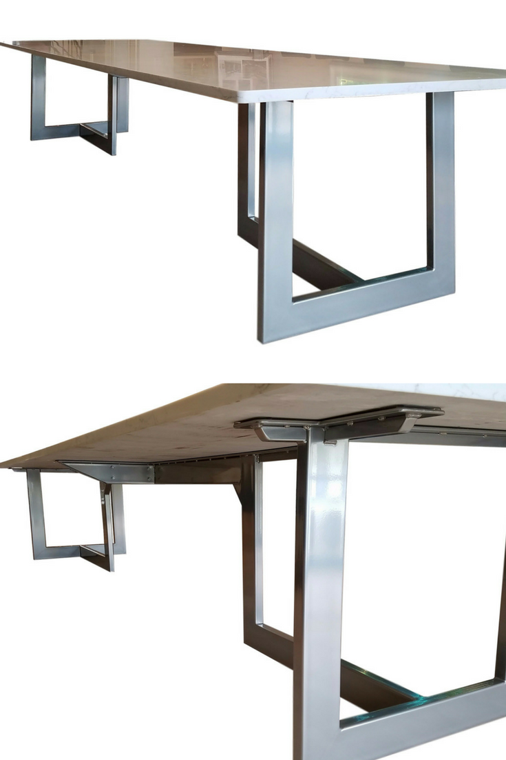 Foot White Modern Conference Table Availabl Used Conference - 14 foot conference room table