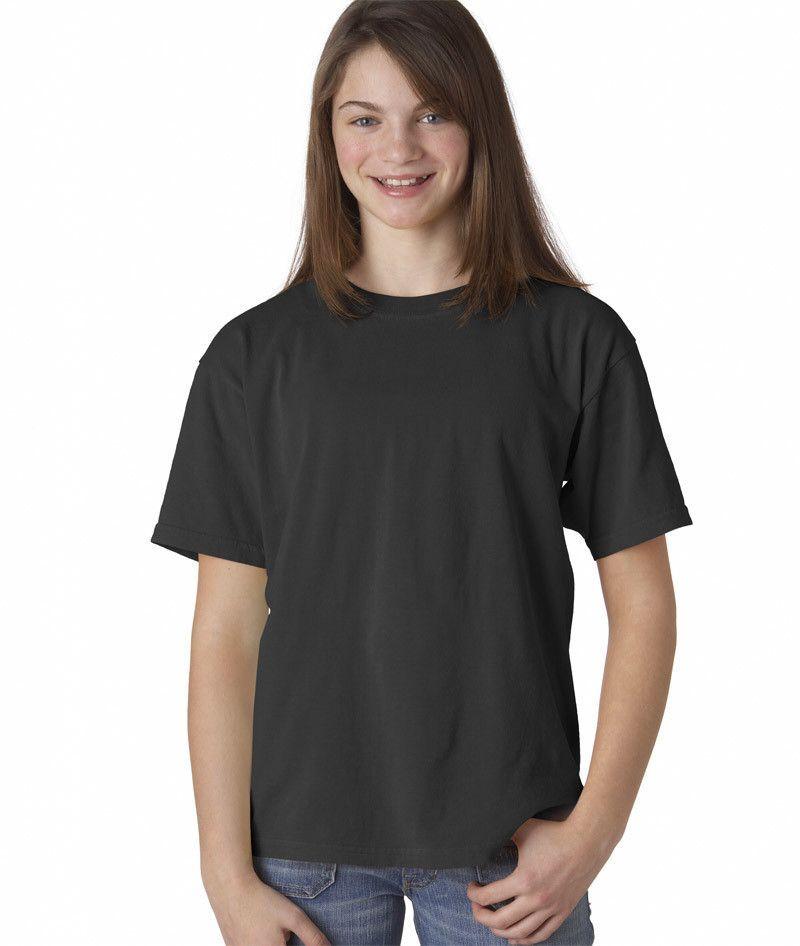 Comfort Colors Youth Tee Graphite Dirdye L Dye T Shirt