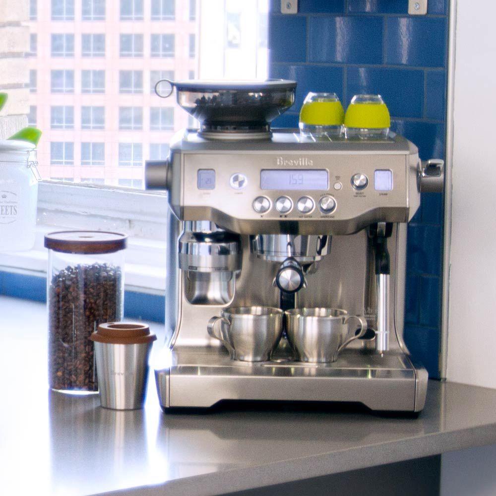 Breville Bes980xl Oracle Espresso Machine Breville Coffee Bar Home Home Espresso Machine