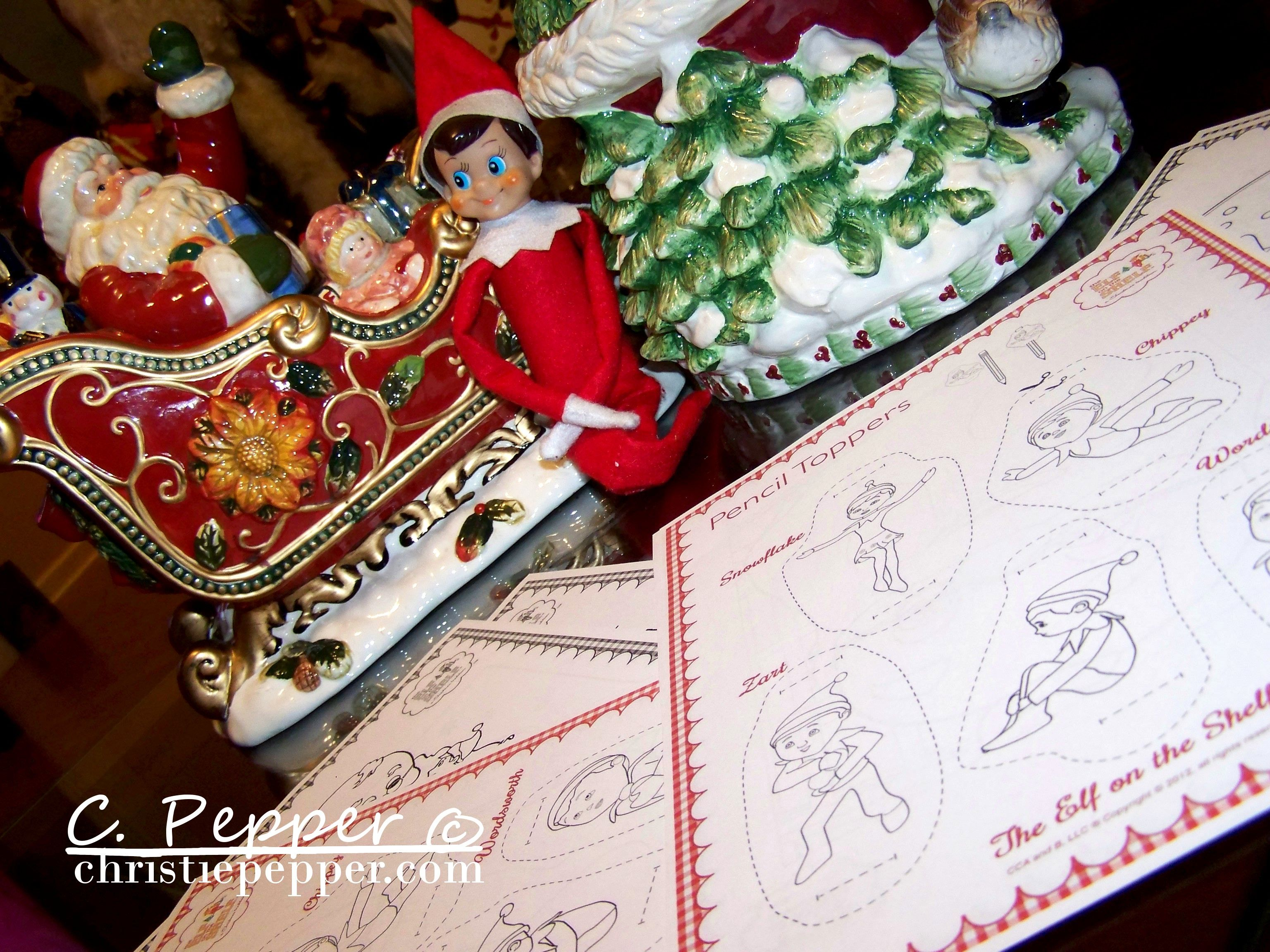 Coloring Pages Xmas : Elf on the shelf coloring pages elf on the shelf pinterest elves