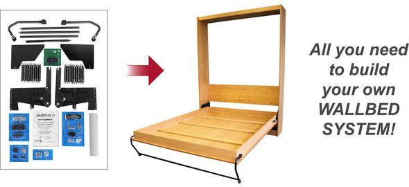 Diy Murphy Beds Plans Murphy Full Size Murphy Bed Do It