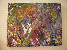 ORIGINAL OIL on CANVAS - 20 X 16 - Signed & dated -