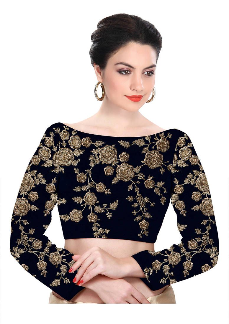 8aa37610d3 ... India 2019 – Women's Clothing Stores Online. Maharani Blouse at  Mirraw.com