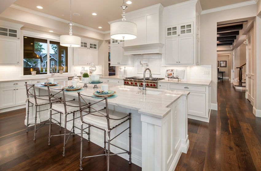 30 Open Concept Kitchens Pictures Of Designs Layouts With